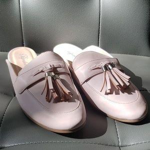 NWOT Pink mules